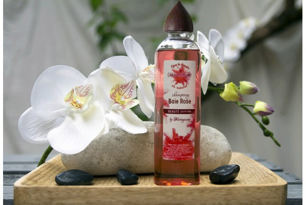 Shampoing Baie Rose